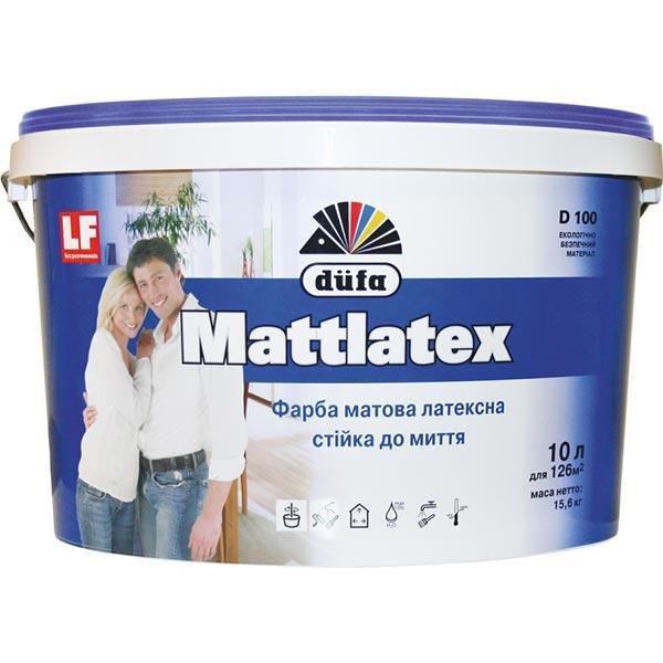 Фарба латексна Dufa Mattlatex 14кг матова