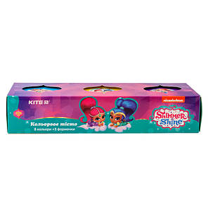 Цветное тесто для лепки Kite Shimmer&Shine SH19-151, 3*75г, фото 2