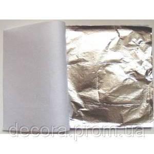 Поталь листовая под серебро 500 листов