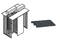 Платформа для SESAME TWIN/BICYCLONE, сталь оцинкованная крашеная
