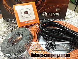 """Нагрівальний кабель комплект з цифровим регулятором """"FENIX"""" (1.4 м. кв.) Спец ціна"""