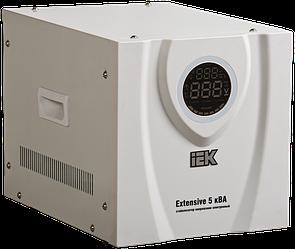 Стабилизатор напряжения Extensive 5 кВА электронный переносной, IEK