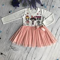 Платье на девочку Breeze Лол 4. Размеры 98 см, 104 см