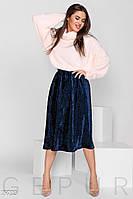 Трендовая юбка-плиссе