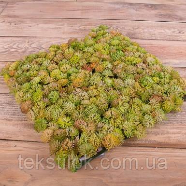 Трава латексная   зеленая Премиум квадрат  25*25 см Зелень искусственная