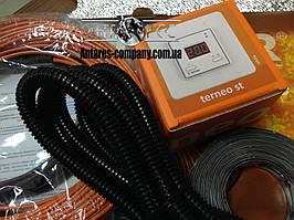 """Тонкий нагрівальний кабель. Комплект з цифровим регулятором """"FENIX"""" (2.8 м. кв.) Спец ціна"""