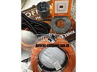 """Нагревательный  кабель в стяжку. Комплект с цифровым терморегулятором """"FENIX"""" (3.4 м.кв.) Спец цена"""