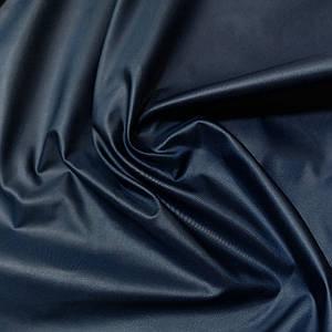 Плащевая ткань лаке темно-синяя
