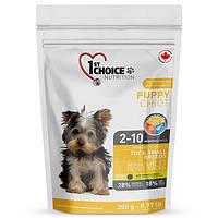 1stChoice PUPPY TOY&SMALL 350 г - корм для щенков миниатюрных и малых пород (курица)