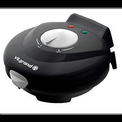 Вафельница электрическая (конус для рожков) ViLgrand VW0754C Черная