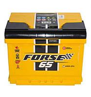 Автомобильный аккумулятор FORSE 65Ah, R, EN 640 WESTA(Форсе Веста) Работаем с НДС