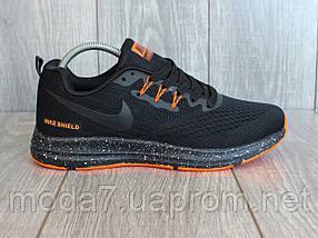 Кроссовки мужские черные Nike Zoom сетка реплика 42р, фото 2