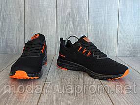 Кроссовки мужские черные Nike Zoom сетка реплика 42р, фото 3