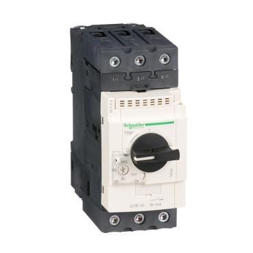 Автоматичний вимикач 37 - 50A захисту двигуна GV3P50
