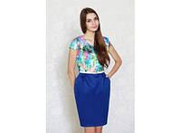 Платье - футляр Цветочный Рай 317-31510628