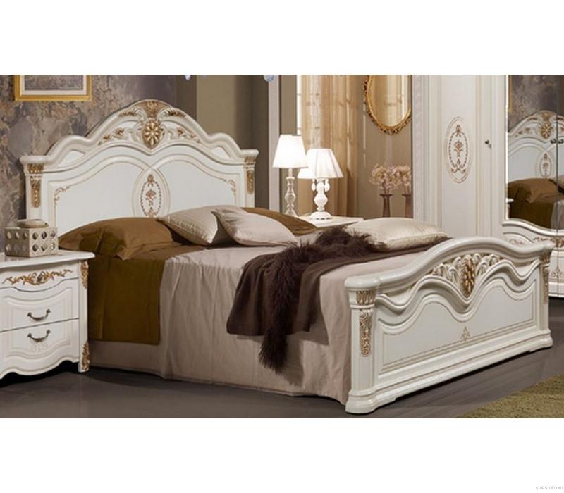 Кровать 180х200 Джаконда СлонимМебель белая