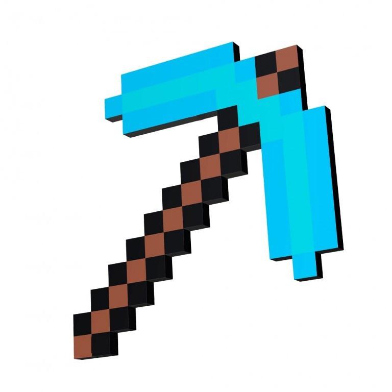 алмазная кирка майнкрафт Minecraft