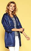 Женская куртка синего цвета Macaria Zaps коллекция весна-лето 2019
