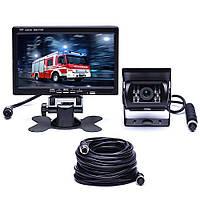 """Видеорегистратор - парковочная система 7"""" RV Van Caravan CMOS сенсор для грузовиков ночное видение"""