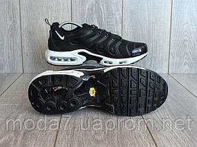 Кроссовки мужские черные Nike Air Max Tn реплика, фото 3
