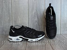 Кроссовки мужские черные Nike Air Max Tn реплика, фото 2