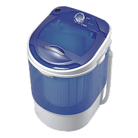 Стиральная машина полуавтомат c центрифугой ViLgrand V 135-2550 blue (3.5 кг белья, съемная центриф)