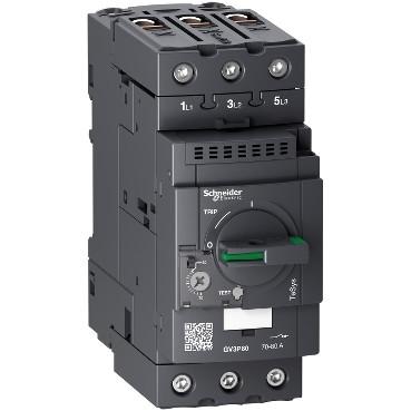 Автоматичний вимикач 80A захисту двигуна GV3P80