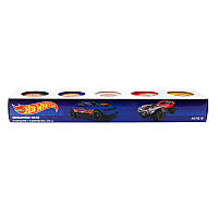 Цветное тесто для лепки Kite Hot Wheels HW19-152, 5*75г