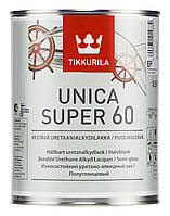 Лак Універсальний Tikkurila Уніка Супер 0,9л напівглянцевий
