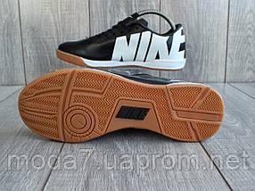 Мужские футзалки - бампы Nike Mercurial черные 41-45р реплика, фото 3