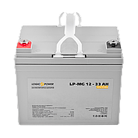 Мультигелевый аккумулятор LogicPower LP-MG 12V 33AH