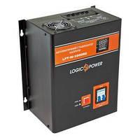 Стабилизатор напряжения LogicPower LPT-W-5000RD Black, фото 1