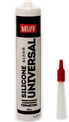 BeLife Герметик силиконовый универсальный 310 мл, белый
