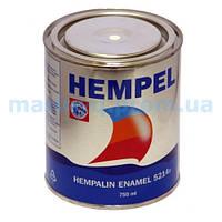Краска HEMPALIN ENAMEL, черная, 0,75 л. Арт. базы 07216
