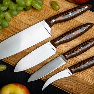 Кухонні ножі та підставки