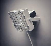 Светодиодный прожектор для спортивного, школьного зала, с дополнительной решеткой