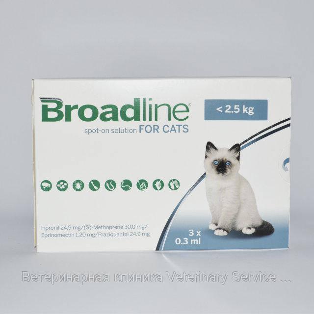 Бродлайн для кошек до 2,5 кг