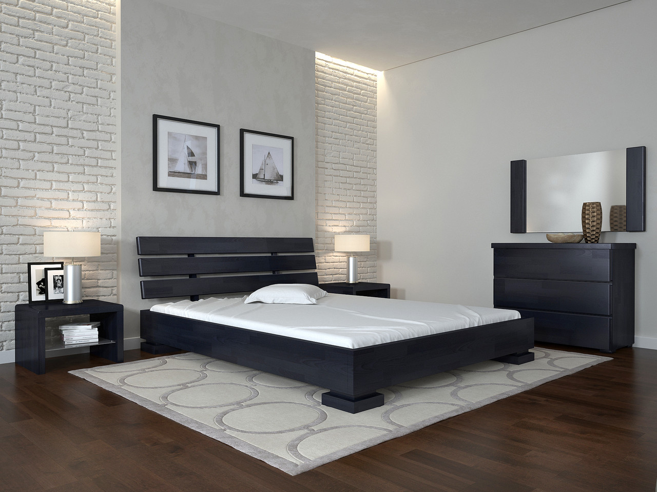 Ліжко Arbordrev Прем'єр (140*190) сосна
