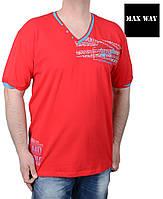 Купить мужскую футболку большого размера хорошего качества