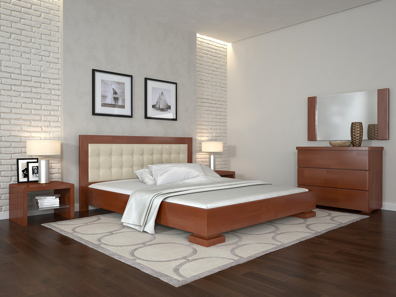 Кровать Arbordrev Монако (180*200) сосна