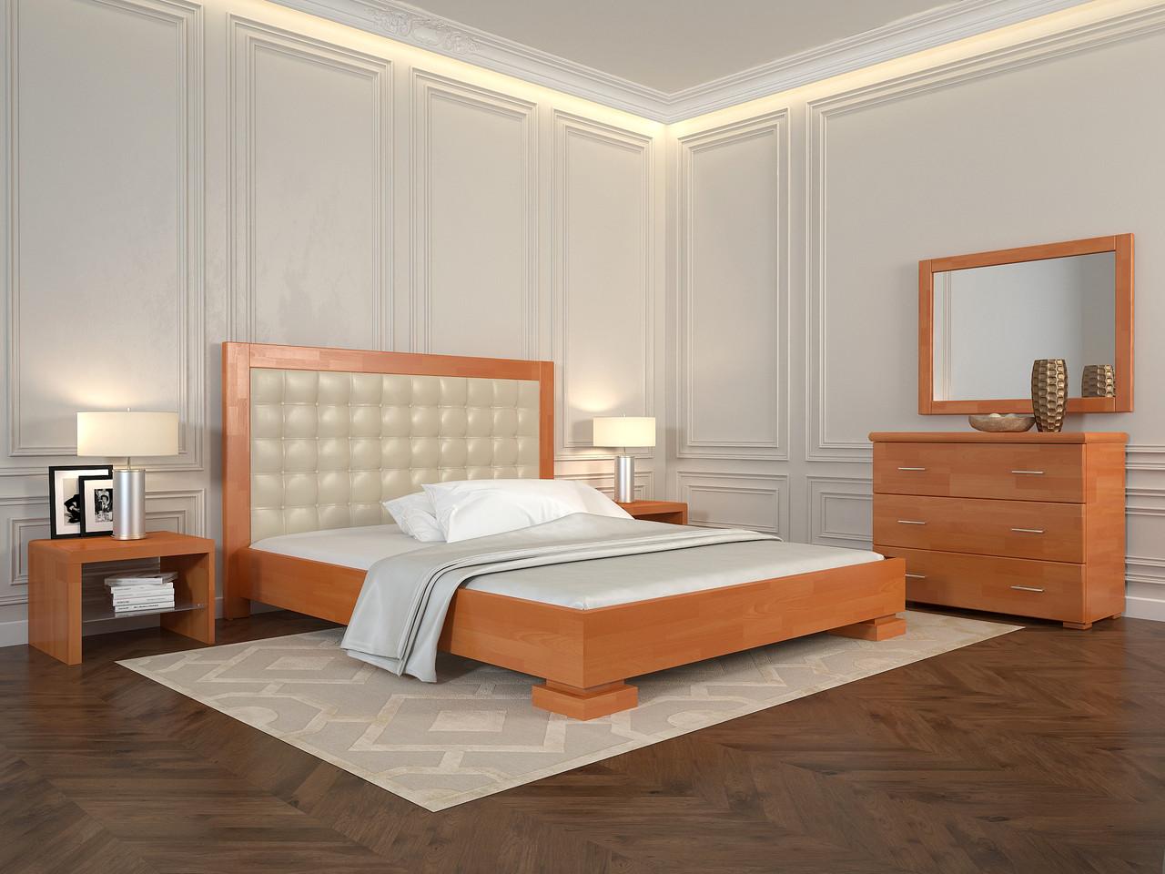 Ліжко Arbordrev Подіум квадрати (160*200) сосна