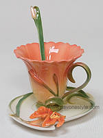 Фарфоровая чайная пара Лилия (Pavone)