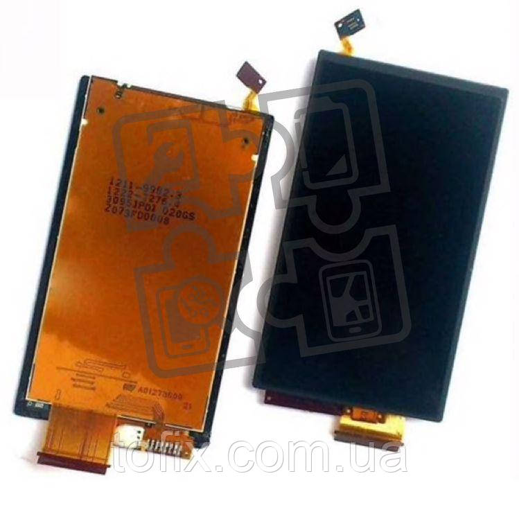 Дисплейный модуль (экран и сенсор) для Sony Ericsson Aino U10, U10i, оригинал