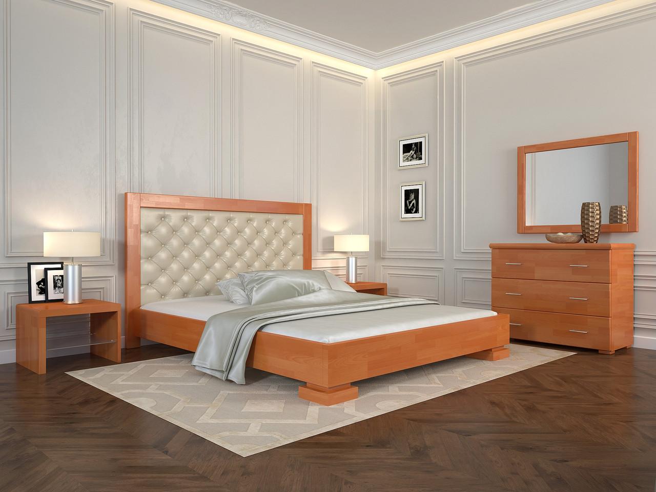 Ліжко Arbordrev Подіум ромби (180*200) бук