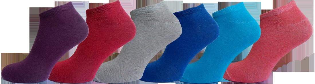 """Жіночі шкарпетки сникерс мікс""""lomani"""""""