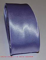 Галстук-селедка однотонный 5 см