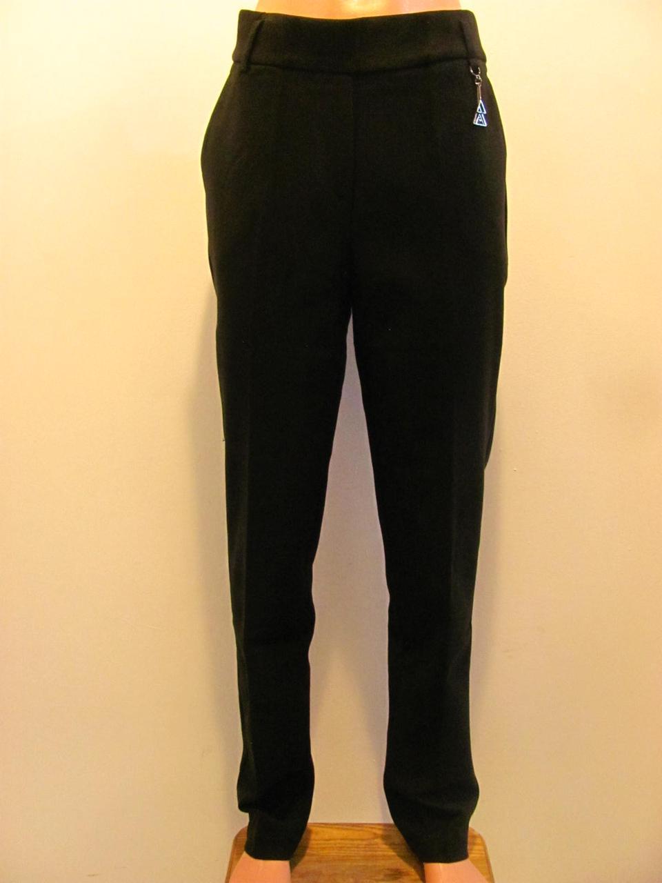 Женские высокие брюки зауженые , стильный вариант в холода( р-р.28,29,30,31,32),  код 3990М
