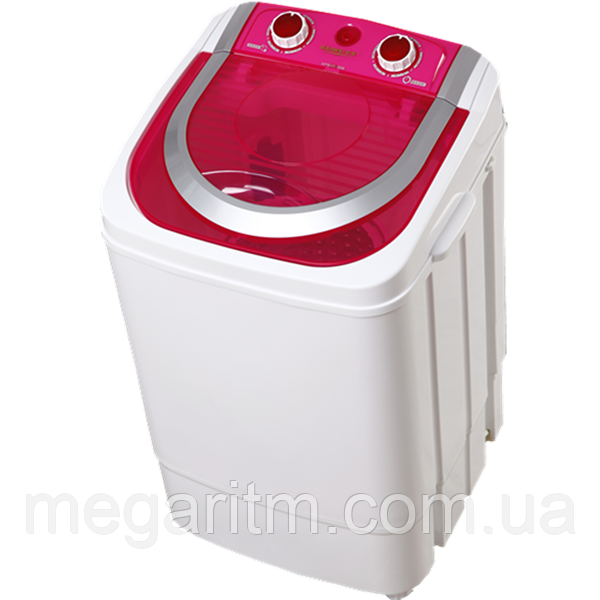 Стиральная машина ViLgrand V145-2570_red 4,5 кг;  однобакова, центрифуга нерж. съемная