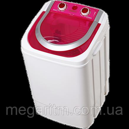 Стиральная машина ViLgrand V145-2570_red 4,5 кг;  однобакова, центрифуга нерж. съемная, фото 2
