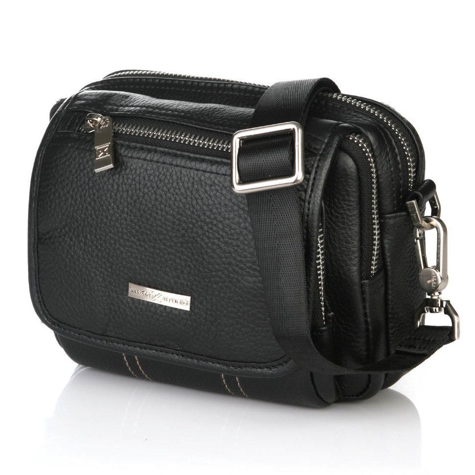 Горизонтальная мужская сумка Luxon 1928-2